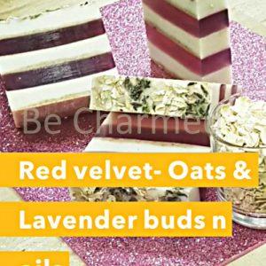 Red Velvet - Oats & Lavender Buds n oils